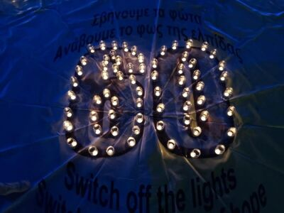 Earth Hour 2021 celebrations in Cyprus