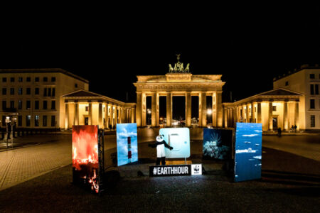 Earth Hour 2021 celebrations in Germany