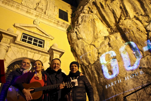 Earth Hour 2018 - Palermo