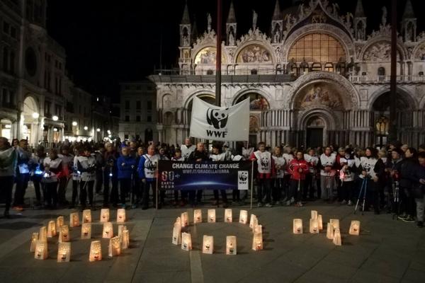 Earth Hour 2018 - Venezia