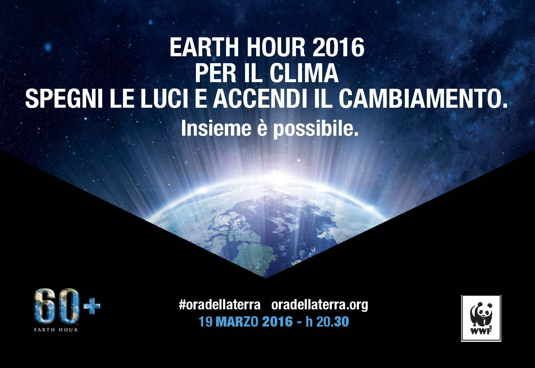 Ora della Terra - Change climate change